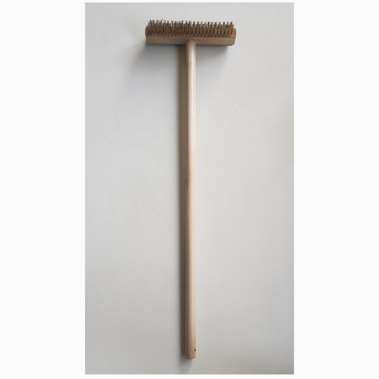 pizza Oven Brush with wood handle